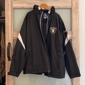 NEW Reebok NFL Raiders On-Field Jacket